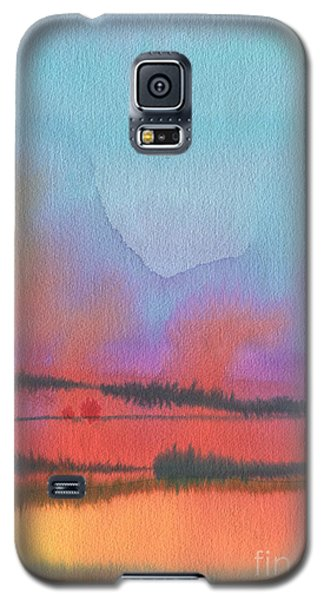 Galaxy S5 Case featuring the painting Southland by Donald Maier