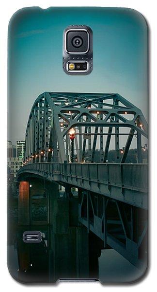 Southside Bridge  Galaxy S5 Case by Shane Holsclaw