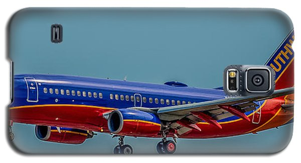 Southwest 737 Landing Galaxy S5 Case by Paul Freidlund