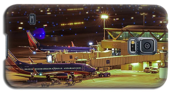 Southwest 737s In For The Night Galaxy S5 Case