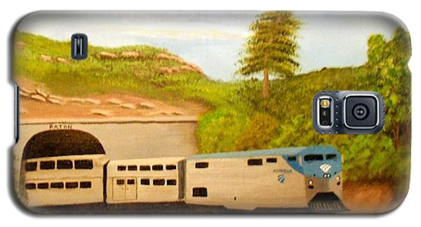 Southwest Chief At Raton Pass Galaxy S5 Case by Sheri Keith