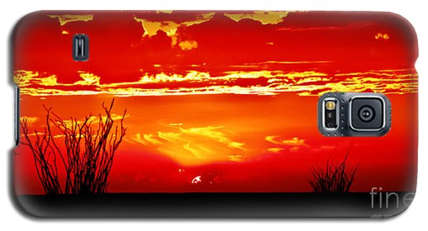 Southwest Sunset Galaxy S5 Case by Robert Bales