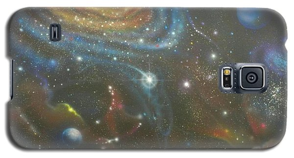 Space Dolphins Galaxy S5 Case