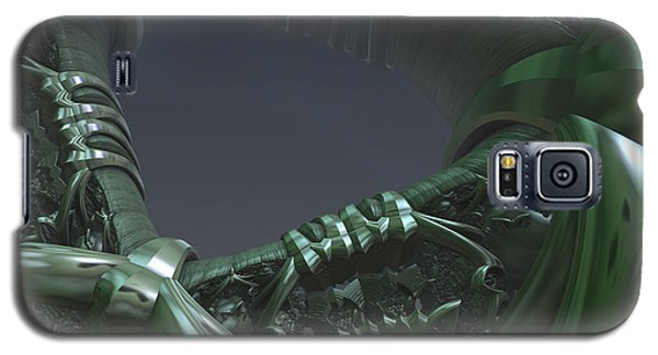 Galaxy S5 Case featuring the digital art Space Frontier  by Melissa Messick