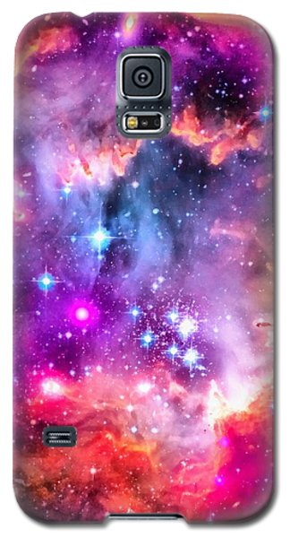 Space Image Small Magellanic Cloud Smc Galaxy Galaxy S5 Case