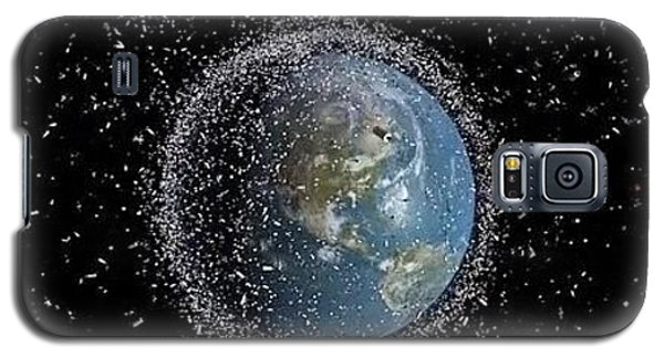 Galaxy S5 Case featuring the photograph Space Junk by Science Source