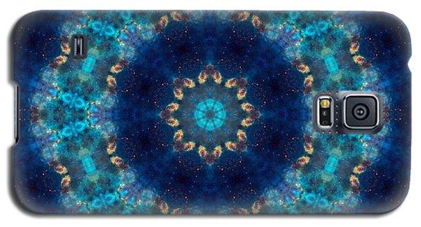 Space Kaleidoscope Galaxy S5 Case by Pete Trenholm