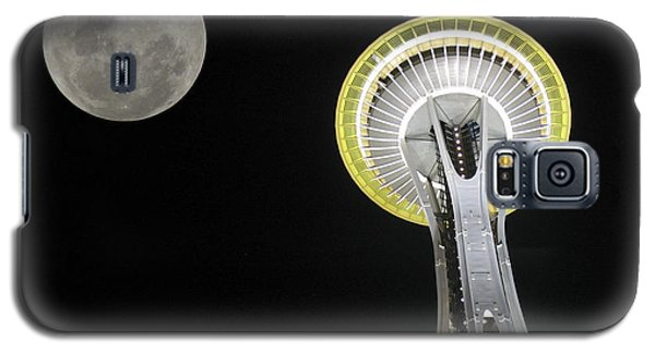 Space Needle Galaxy S5 Case by David Gleeson