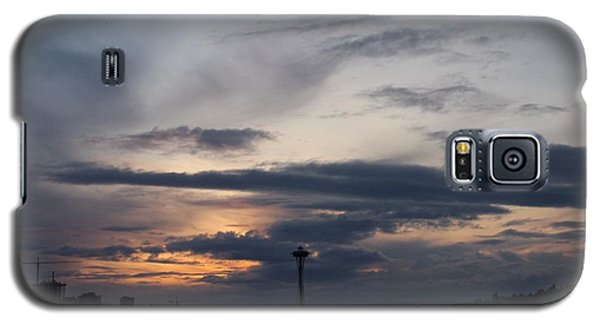 Space Needle Sunrise Galaxy S5 Case