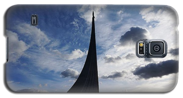 Space Roket Monument Galaxy S5 Case by Julia Ivanovna Willhite