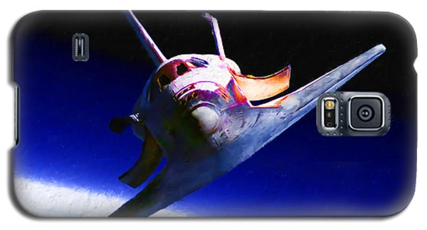 Space Shuttle Head On Galaxy S5 Case