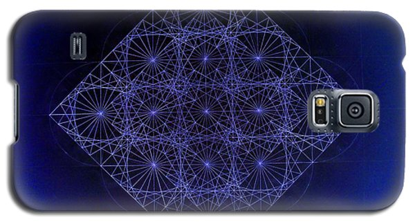 Space Time Sine Cosine And Tangent Waves Galaxy S5 Case by Jason Padgett