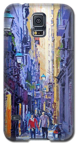 Barcelona Galaxy S5 Case - Spain Series 10 Barcelona by Yuriy Shevchuk