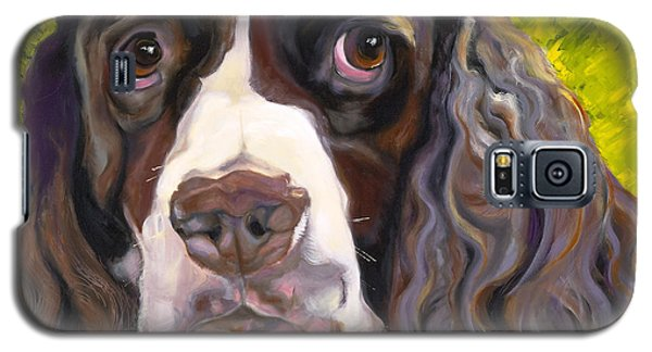 Spaniel The Eyes Have It Galaxy S5 Case