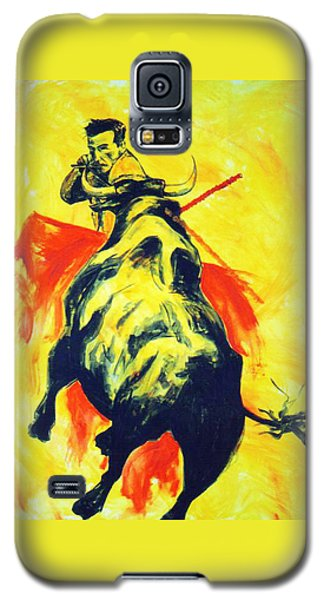 Spanish Bullfight Galaxy S5 Case