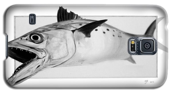 Spanish Mackerel - Pencil Galaxy S5 Case