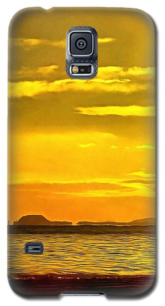 Spanish Marine Sunset Galaxy S5 Case by Mick Flynn