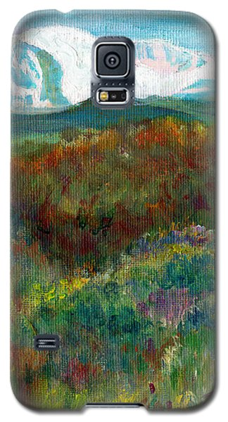 Spanish Peaks Evening Galaxy S5 Case
