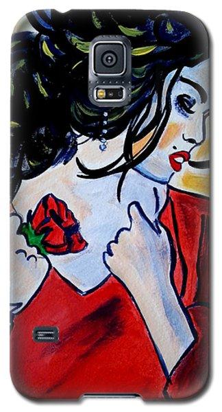 Spanish Rose Galaxy S5 Case