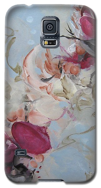 Galaxy S5 Case featuring the painting Spark 19 by Elis Cooke