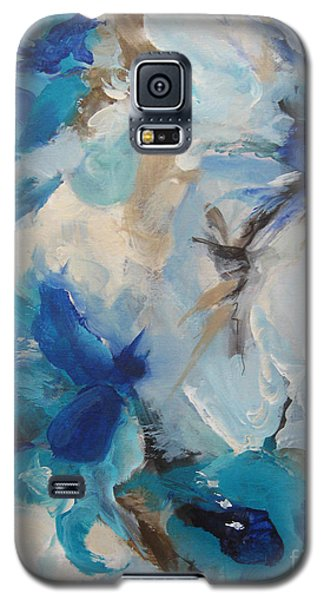 Galaxy S5 Case featuring the painting Spark 21 by Elis Cooke