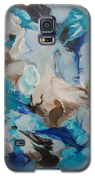 Galaxy S5 Case featuring the painting Spark 22 by Elis Cooke