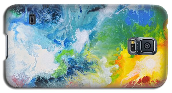 Spark Of Life Canvas Two Galaxy S5 Case