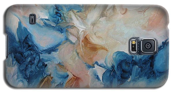 Galaxy S5 Case featuring the painting Spark Xvii by Elis Cooke