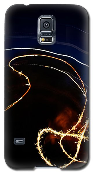 Galaxy S5 Case featuring the photograph Sparkler by Joel Loftus