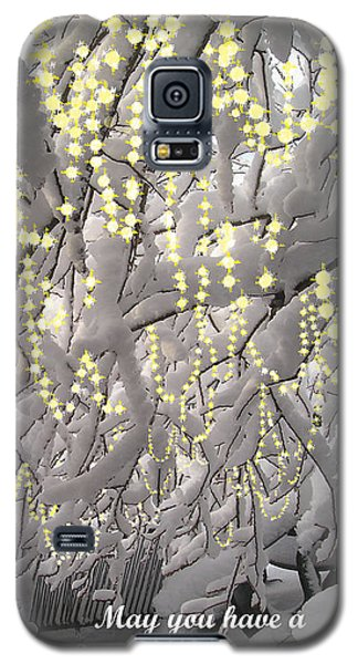 Sparkling Christmas Galaxy S5 Case