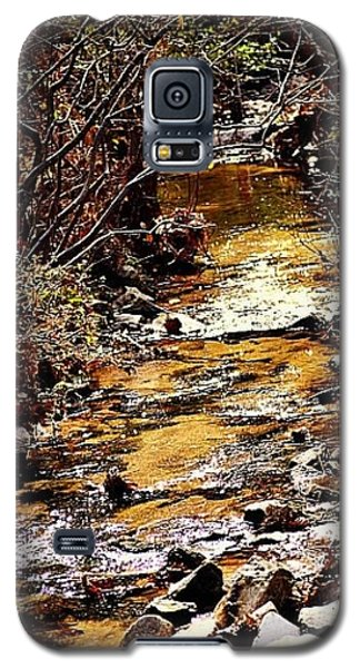Galaxy S5 Case featuring the photograph Sparkling Creek by Tara Potts