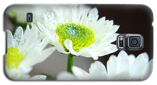Sparkling Daisies Galaxy S5 Case