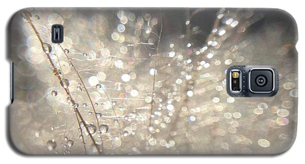 Galaxy S5 Case featuring the photograph Sparkling Dew by Nikki McInnes