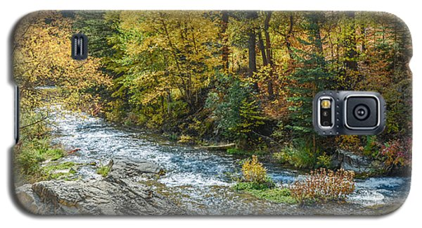 Spearfish Creek Autumn Galaxy S5 Case