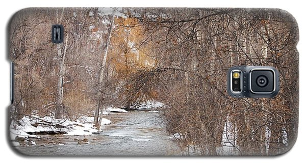 Spearfish Creek In Winter Galaxy S5 Case