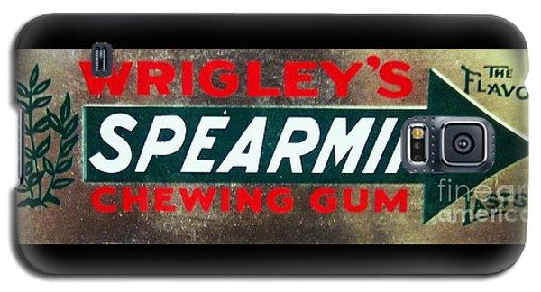 Spearmint Gum Sign Vintage Galaxy S5 Case
