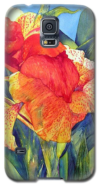 Speckled Canna Galaxy S5 Case