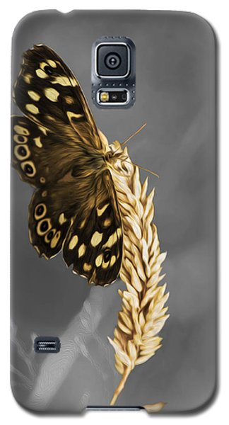 Speckled Wood Butterfly Galaxy S5 Case