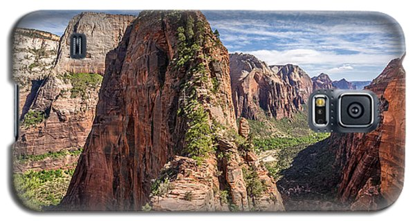 Spectacular Hike Angel's Landing Zion Galaxy S5 Case