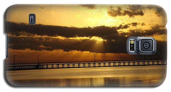 Galaxy S5 Case featuring the photograph Spectacular Sunrise Two by Linda Cox