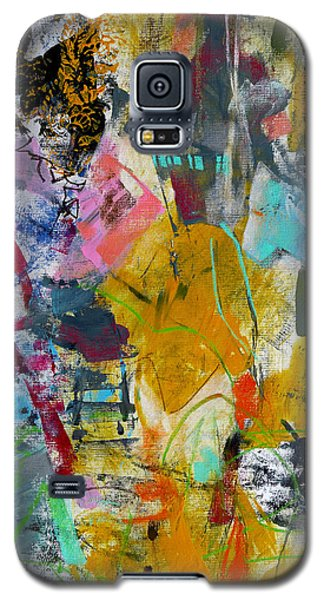Galaxy S5 Case featuring the painting Speechless by Katie Black