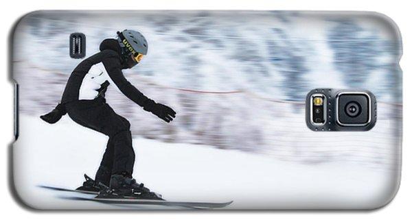Speed On Snow Galaxy S5 Case by Vlad Baciu