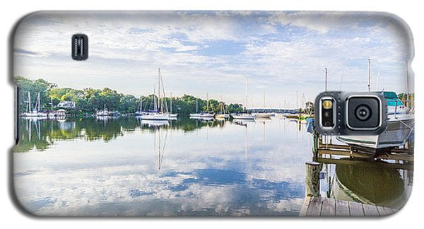 Speedboat On The Magothy River Galaxy S5 Case