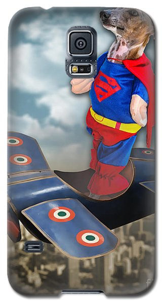Speedolini Flying High Galaxy S5 Case by Kathy Tarochione