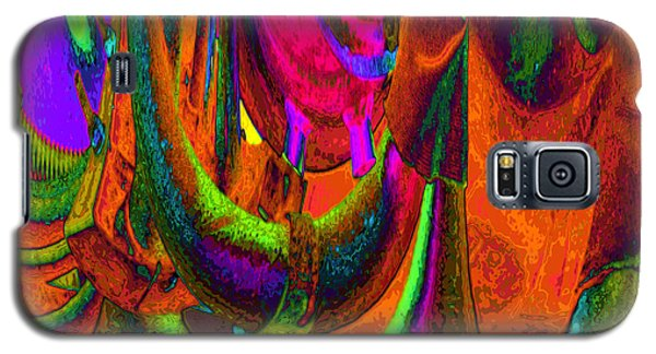 Spelunking On Venus Galaxy S5 Case by Alec Drake