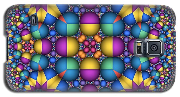Sphere Packed Hyperbolic Disk II Galaxy S5 Case