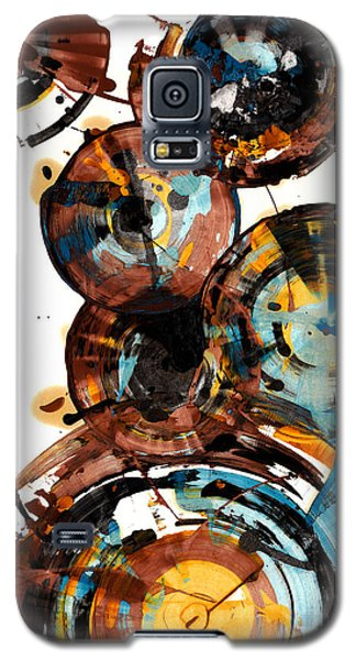 Galaxy S5 Case featuring the painting Spherical Happiness Series - 993.042212 by Kris Haas