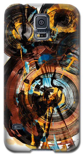 Galaxy S5 Case featuring the painting Spherical Happiness Series - 994.042212 by Kris Haas