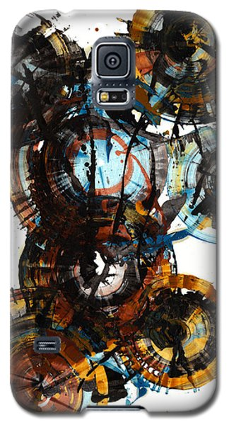 Galaxy S5 Case featuring the painting Spherical Joy Series - 995.042212 by Kris Haas