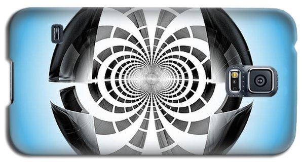 Galaxy S5 Case featuring the digital art Spheroid by GJ Blackman